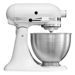 [ebay] KitchenAid Classic 5K45SSEWH Küchenmaschine 4,3L Weiß Factory Serviced