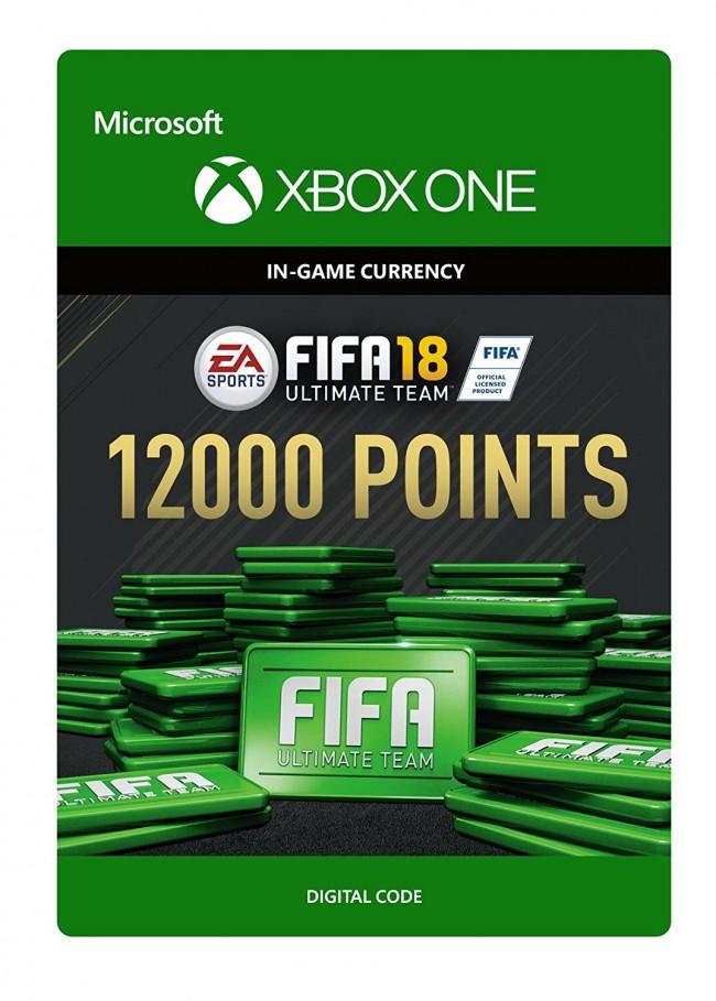12.000 FIFA Points für FIFA18 XBOX One für 83,19€
