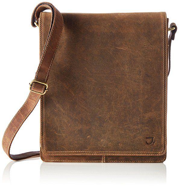 James Tyler Büffelledertasche - sowie weitere Taschen von adidas, Samsonite uvm. auf top12