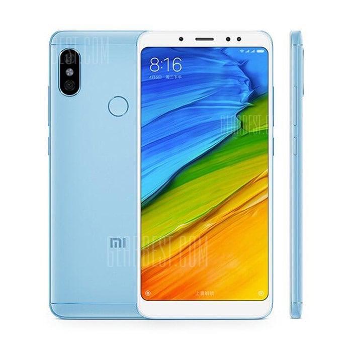 Xiaomi Redmi Note 5 4 GB RAM 64 GB ROM 4G Smartphone Globale Version Blau