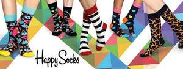 Happy Socks 5 für 4, 10 für 8 und 20 für 16 oder 25 % Rabatt, versandkostenfrei