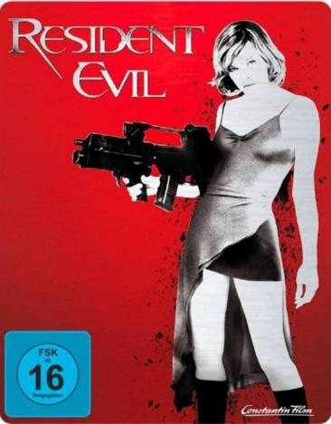(Media-Dealer) Resident Evil (Teil 1 - 5) als Steelbook (Blu-Ray) für je 9,99 EUR