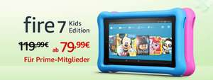 Fire 7 Kids Edition-Tablet, 17,7 cm (7 Zoll) Display, 16 GB, blaue kindgerechte Hülle AKTION