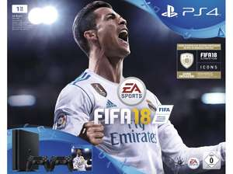 Playstation 4 Bundle + 2. Controller + FIFA 18