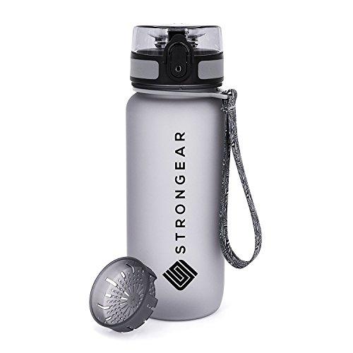 STRONGEAR® Premium Sport-Wasserflasche 650ml