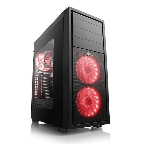 Komplett PC Ryzen 2700X, GTX 1080, 256 SSD, 1 TB HDD günstiger als Einzelteile
