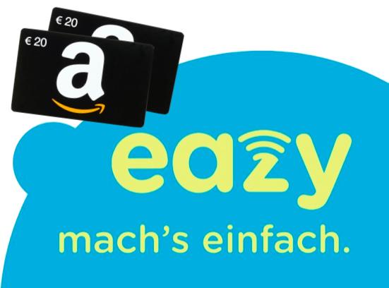 eazy 20 od. 50 (20 - 50 Mbit/s) mit 40€ Amazon Gutschein + WLAN-Router ab 11,99€ / Monat