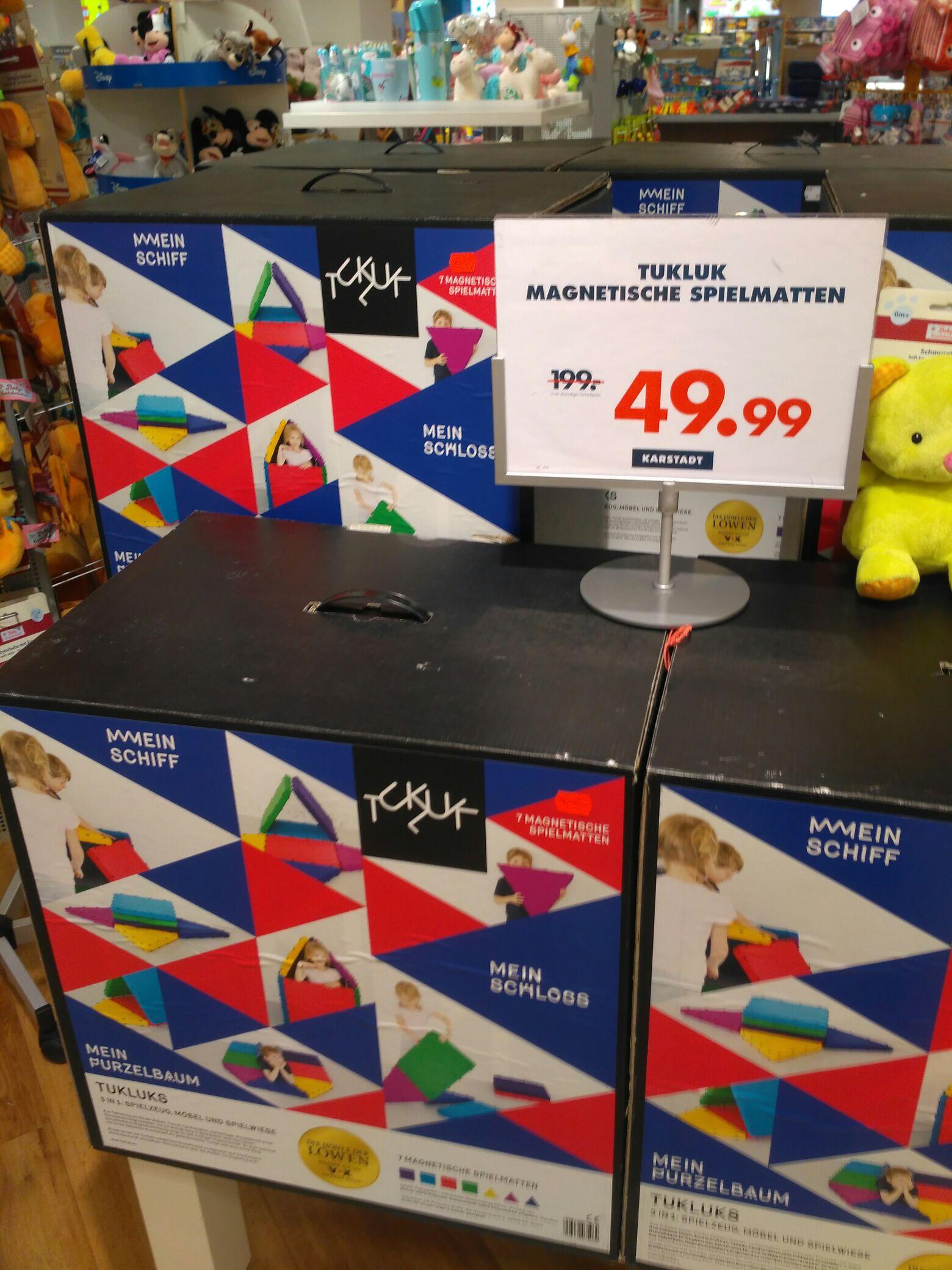 [Bremen] Tukluk Spielmatten Set 7-tlg bei Karstadt für 49,99 €