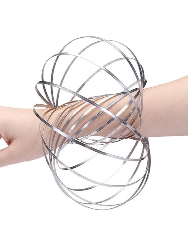 Dresslily 3D-Skulptur Metall Spring Flow für 1,78 Euro