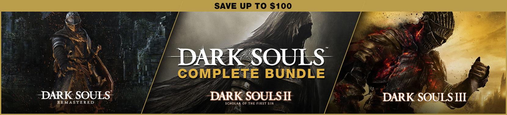Dark Souls Complete Bundle [Steam] @ indiegala