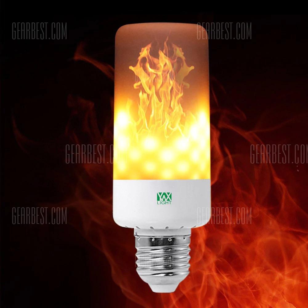 YWXLight E27 (auch E26) LED Flame Effect Light Bulb - LED Lampe mit Flammeneffekt