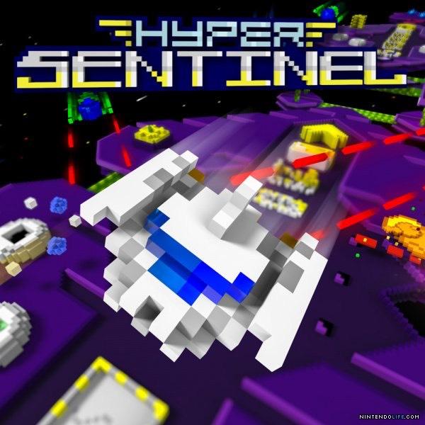 Hyper Sentinel: Brandneues Spiel für Nintendo Switch im Stil des C64-Klassikers Uridium für 4,- € statt 11,99 € im Russischen eShop