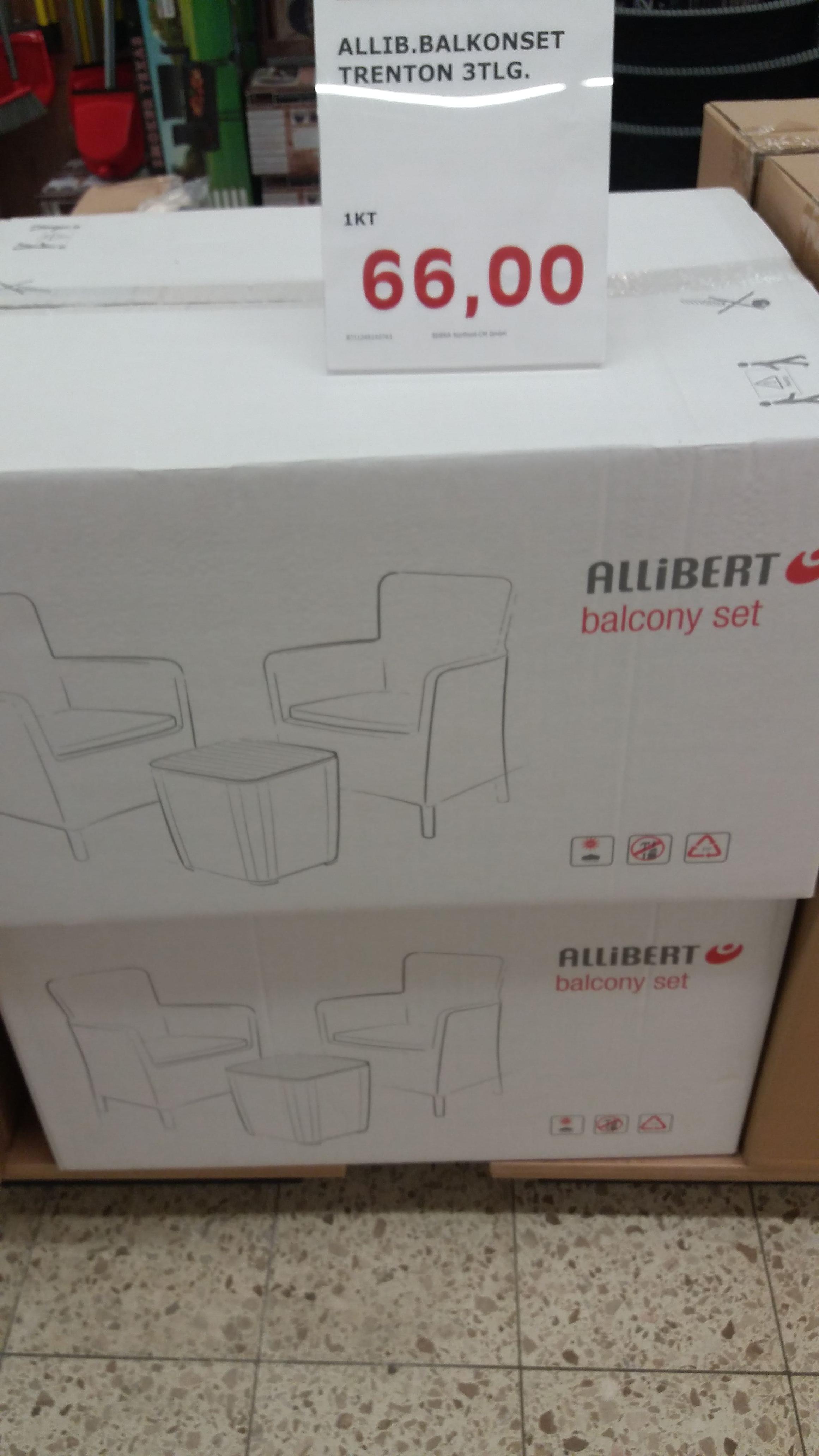 [LOKAL Speyer] Allibert Balkonset Trenton 3tlg. [EDEKA]