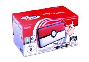 [Saturn] NINTENDO New Nintendo 2DS XL Limited Pokéball Edition oder NINTENDO New 2DS XL Pikachu Edition für je 122,-€ bei Abholung