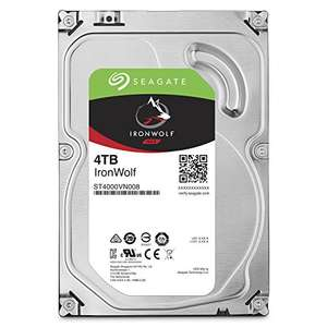 [Amazon] Seagate IRONWOLF 4TB NAS Festplatte