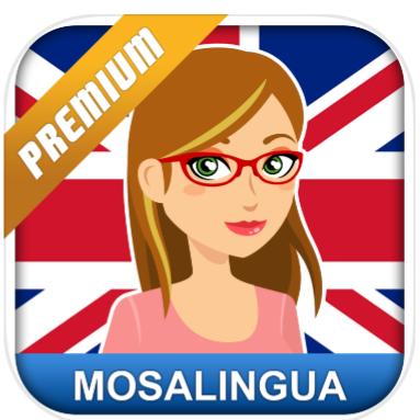 Englisch lernen: Sprachkurs und Vokabeln MosaLingua (Premium) kostenlos statt 5,49€ [iOS] [Android]