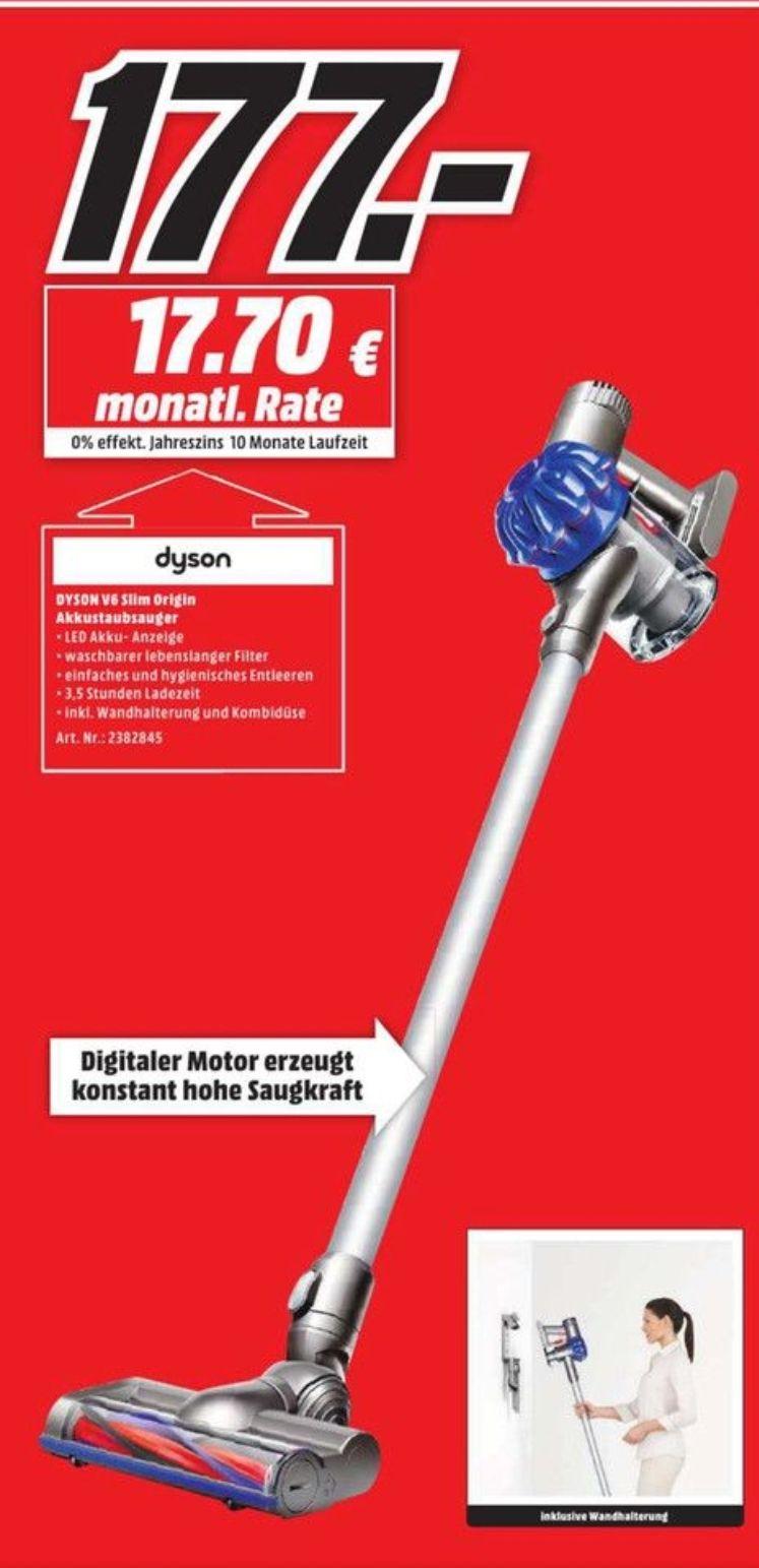 [Lokal Media Markt Berlin] Dyson V6 Slim Origin Akku Staubsauger