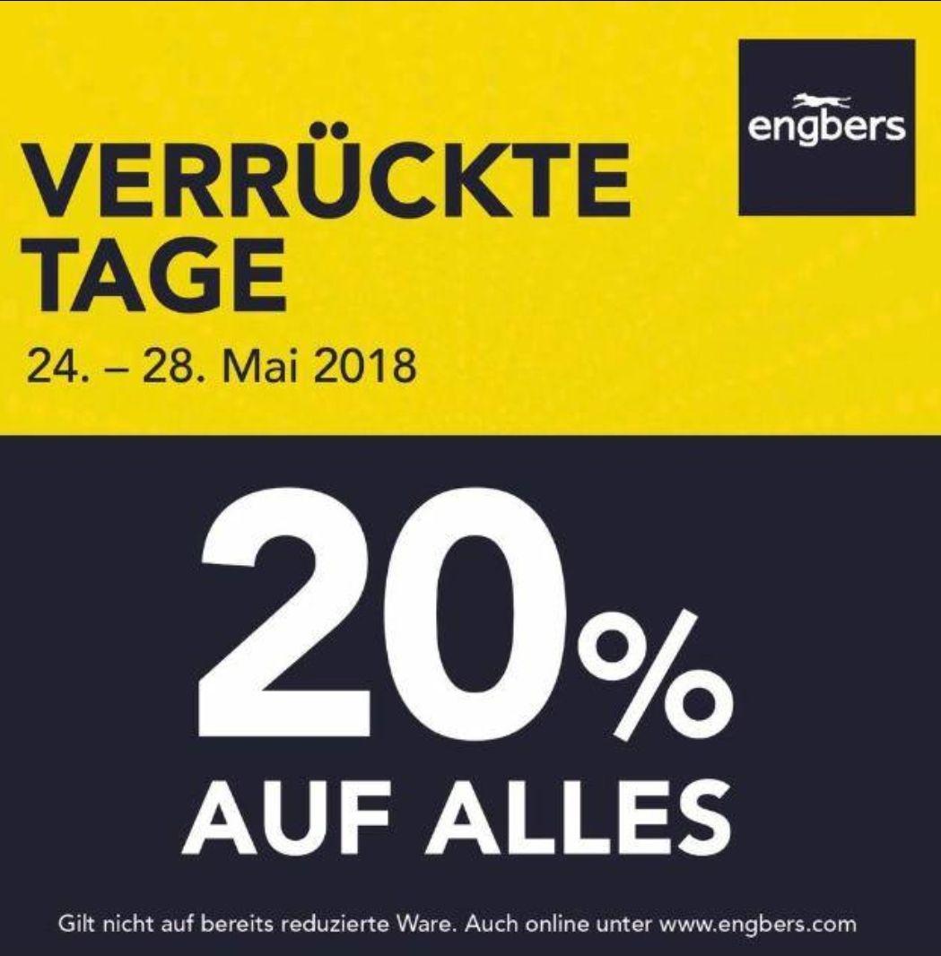 20% auf Herrenmode, Koblenz