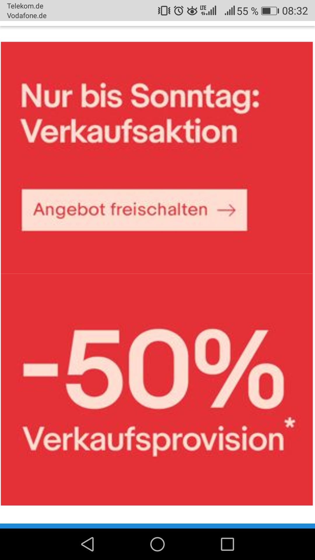 EBAY - 50% Verkaufsgebühren bis Sonntag 27.05.18 / ausgewählte Konten