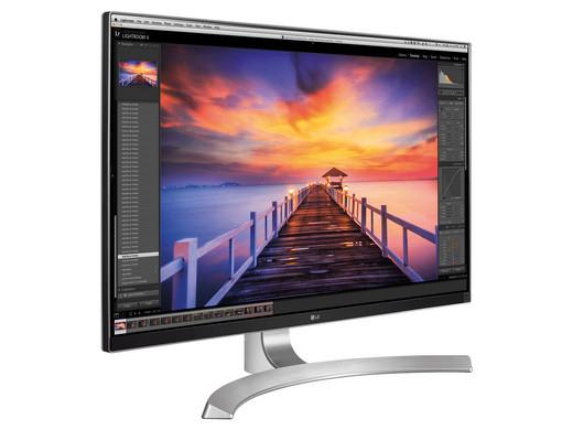 LG 27UD88 - 68,6 cm (27 Zoll) UHD Monitor (1000:1, 4K, IPS, Display Port, HDMI, USB, 3840 x 2160 Pixel)