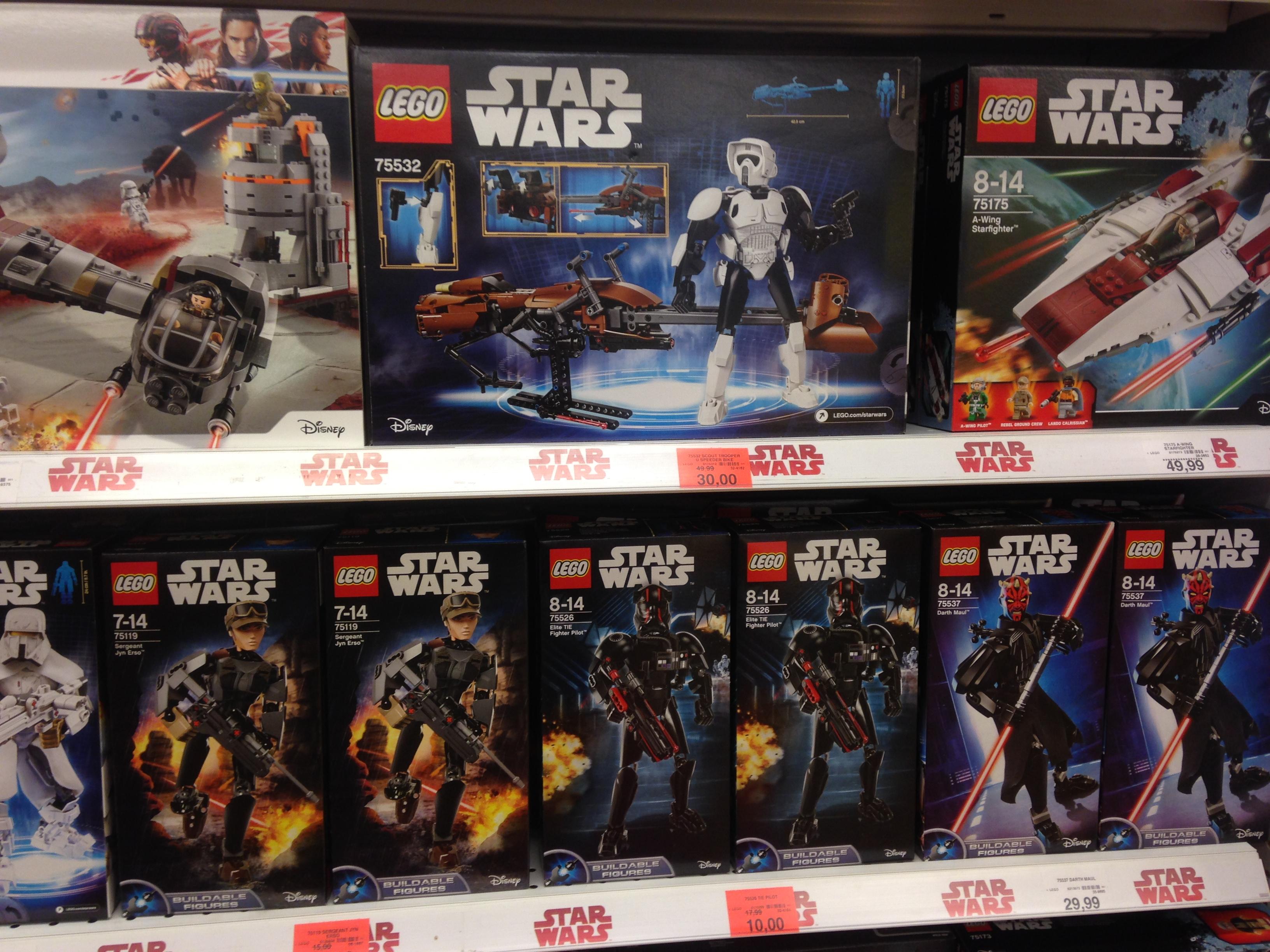 "(Lokal Toys""R""Us Schwerin) Lego Star Wars 75532 Scout Trooper & Speeder Bike"