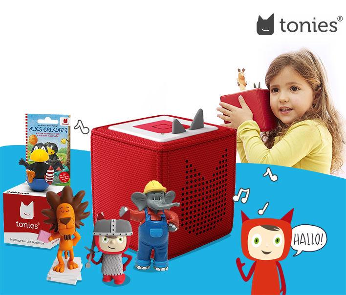 40 % Rabatt Tonies Hörfigur für 9 € pro Figur (Toniebox)
