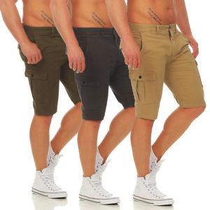 (Ebay WOW) JACK & JONES - CAM - Cargo Shorts - Bermuda Jeans - 3 Farben - NEU
