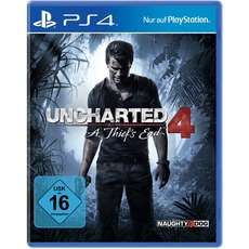 Uncharted 4: A Thief's End (PS4) für 19,99€ [Alternate]