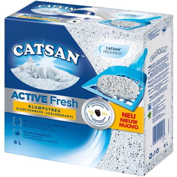 3x8Liter Catsan Active Fresh für 10,97€, mit dem 5€ Wechselbonus und 5€ NL-Gutschein [Miau Deal Zooroyal]
