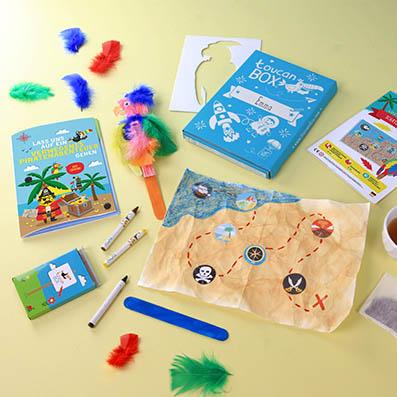 Kostenlose Bastelbox für Kids (Abo - sofort ohne weitere Kosten kündbar innerhalb der ersten 10 Tage) lediglich 1,55€ Versand