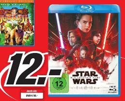 [MM HH+B] Star Wars: Die letzten Jedi; Blu-ray €12,-; DVD €10,-