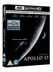 Apollo 13 (4K Ultra HD + Blu-ray + Digital Download) für 10,30€ (Zoom.co.uk)