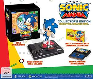 Sonic Mania: Collectors Edition (Xbox One) für 58,96€ & (PS4) für 52,81€ (Amazon DE & UK)