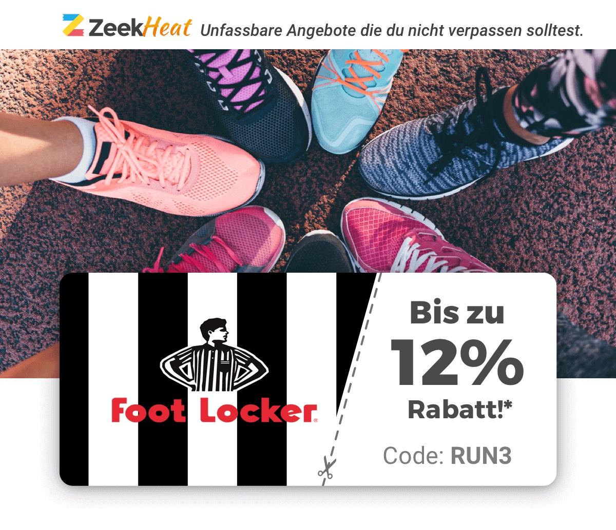 Zeek Heat Sneaker-Special – 12% bei Foot Locker