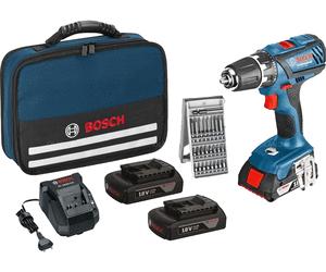Bosch GSR 18 Li Plus Set mit 3x1,5Ah