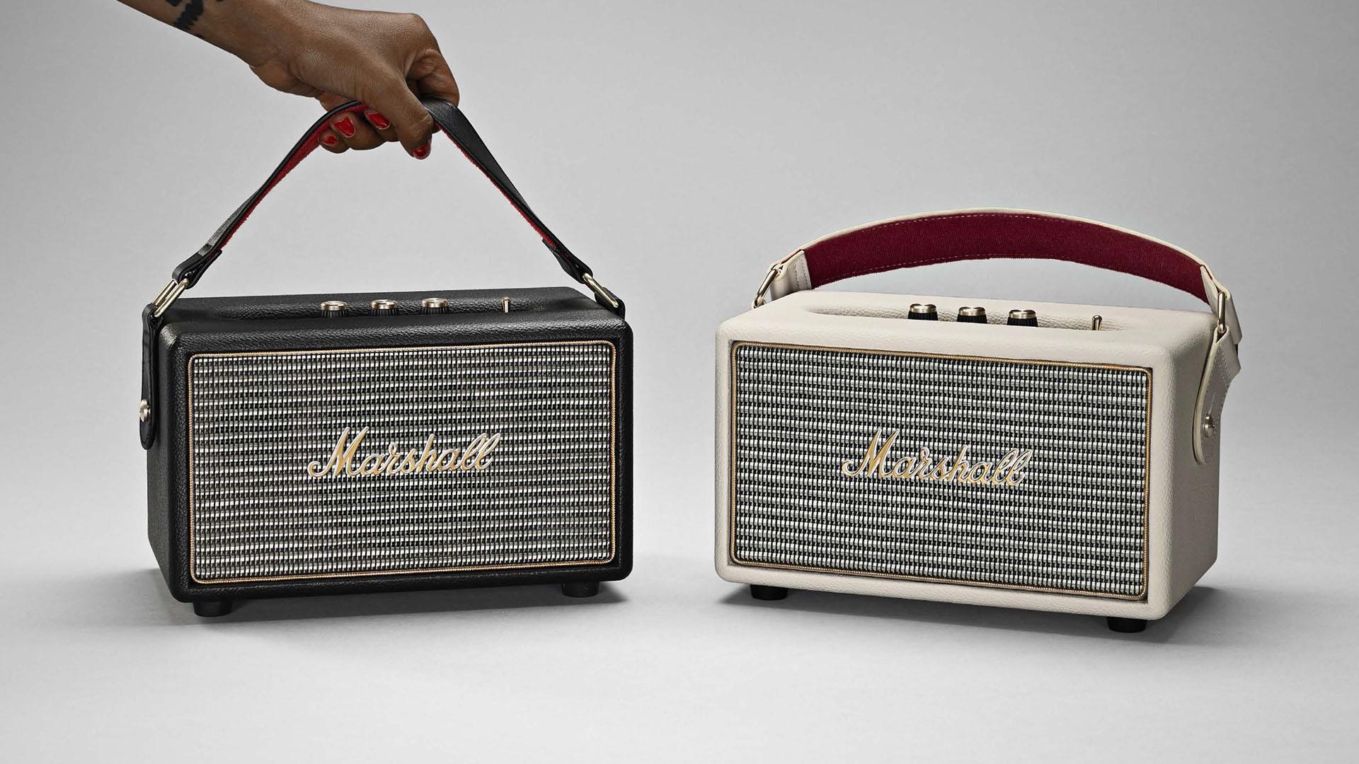 Marshall Kilburn Lautsprecher mit wechselb. Akku in schwarz, creme oder steel