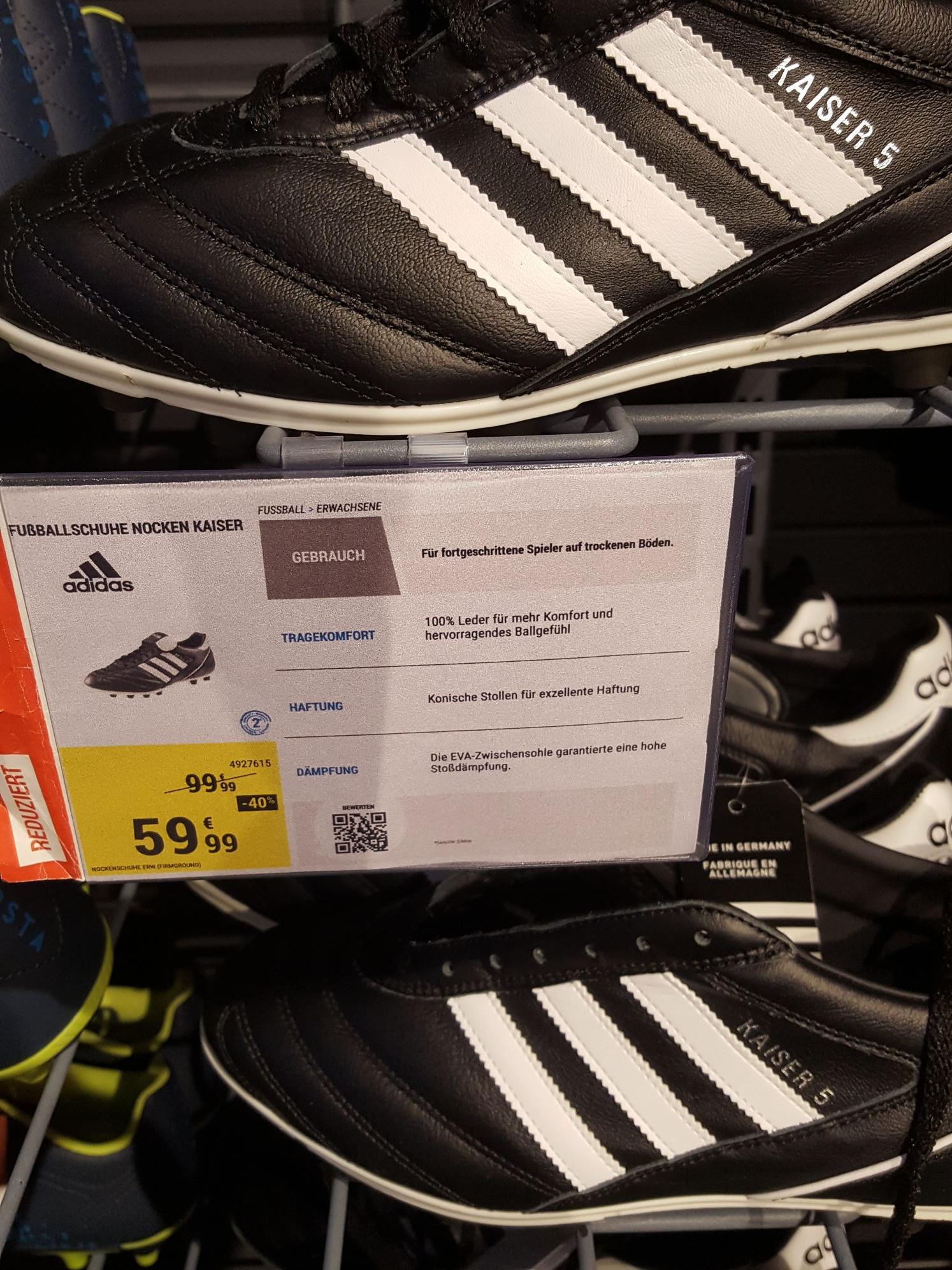 Kaiser 5 Adidas Fußballschuhe Decathlon