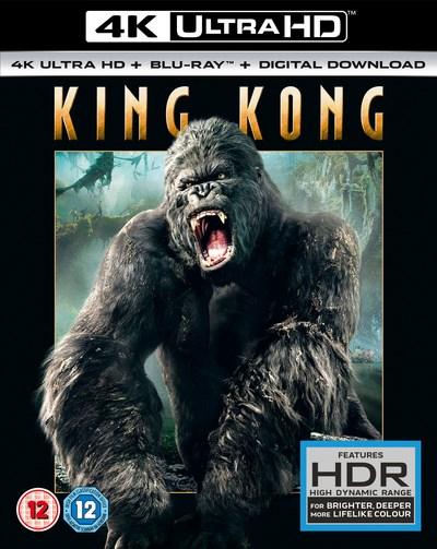 King Kong (4K UHD + Blu-ray + UV Copy) für 10,30€ (Zoom.co.uk)