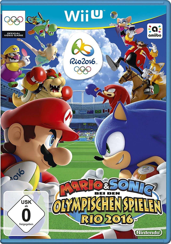 Mario & Sonic bei den Olympischen Spielen: Rio 2016 (Wii U) für 15,44€ (Amazon)