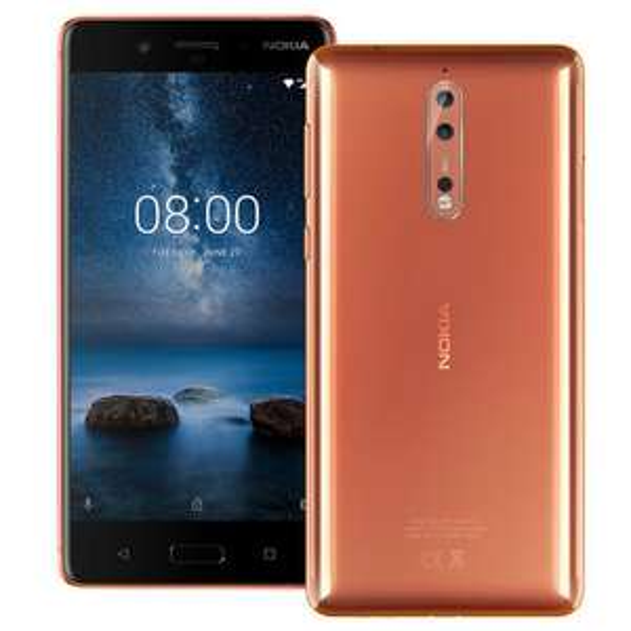 Nokia 8 Dual sim 4GB ram 64GB ohne SIM-Lock - Kupfer glänzend