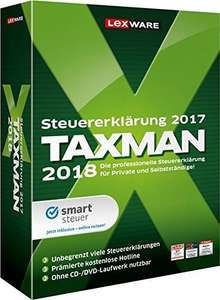 Lexware TAXMAN 2018 Standard (ESD) / Downloadversion