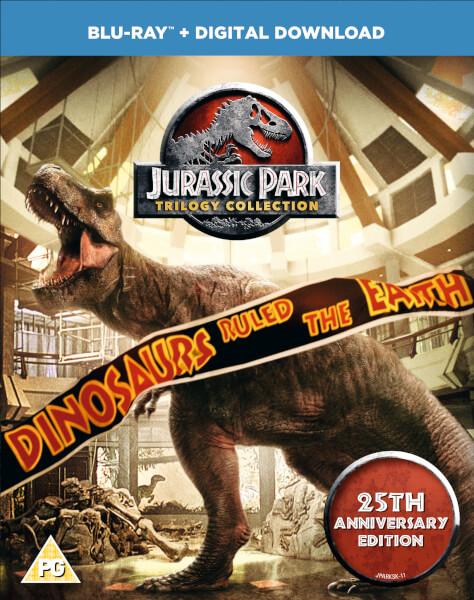 Jurassic Park Trilogy 25th Anniversary Edition  [3x Blu-ray + Digital Download] für 11.92€ @ Zavvi (oder alternativ für 11,29€ @Zoom)