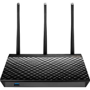 Asus RT-AC66U B1 WLAN Router (Dual-Band, 802.11ac, AC1750, Gigabit LAN)
