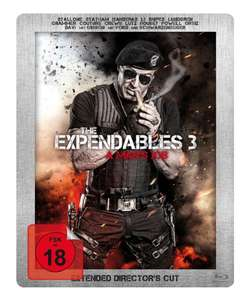 Blu-ray Steelbooks für je 4,99€ - z.B. The Expendables 3 - Steelbook (Blu-ray), Southpaw - Steelbook (Blu-ray) inkl. Booklet (Müller SammelDeal)