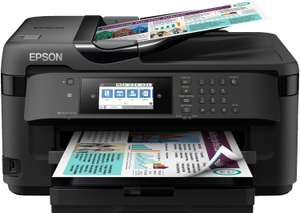 Epson WorkForce WF-7715DWF Tintenstrahl-Multifunktionsgerät (A3, Duplex, Google Cloud Print, NFC, LAN, WLAN)