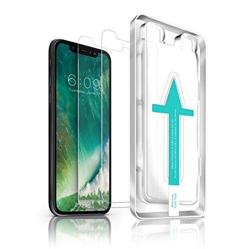 Wieder verfügbar - 2 x iPhone X Panzerglas + Schablone
