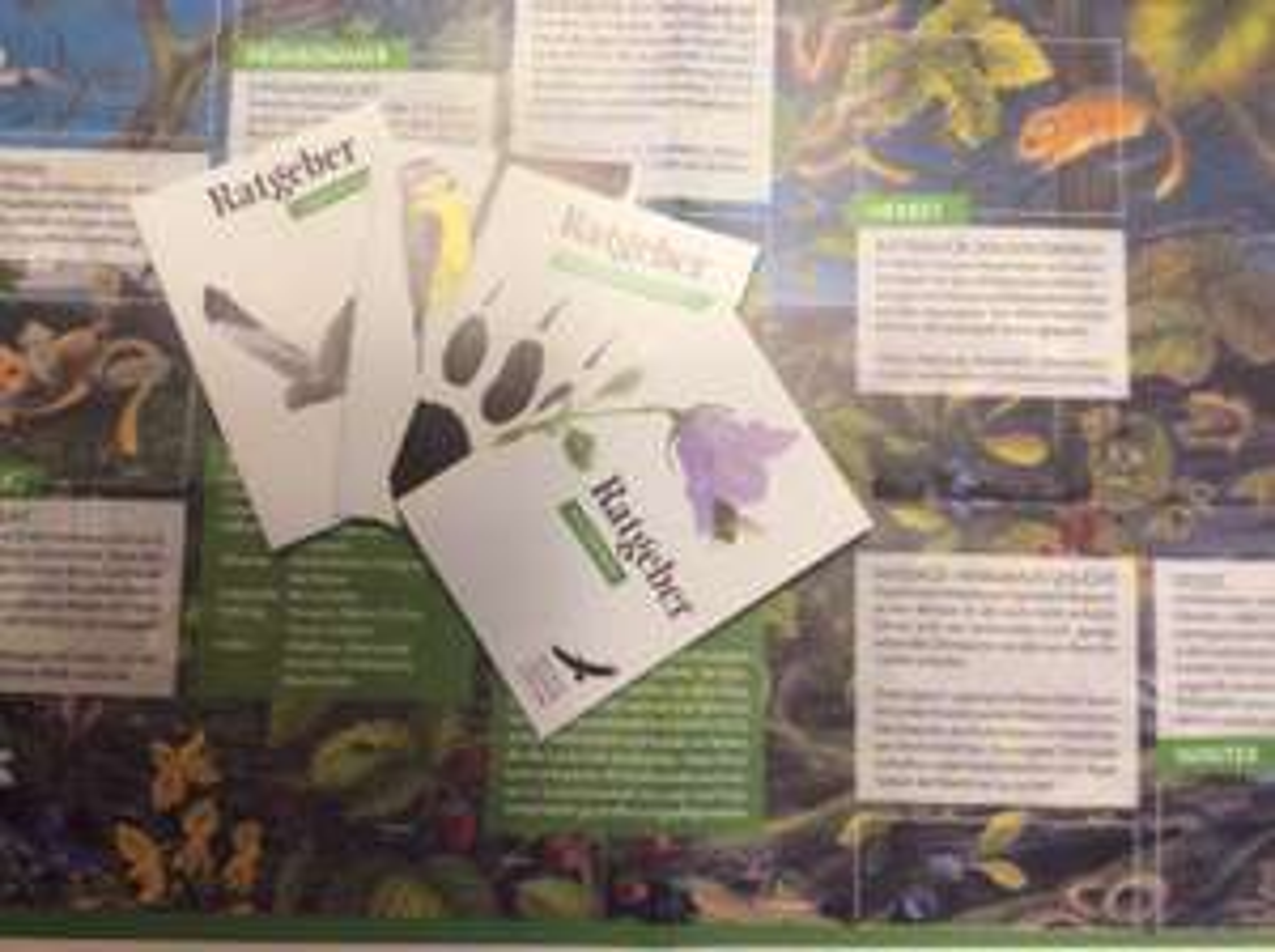(Wildtierstiftung) Haselmaus-Poster und div. Broschüren über Wildtiere gratis