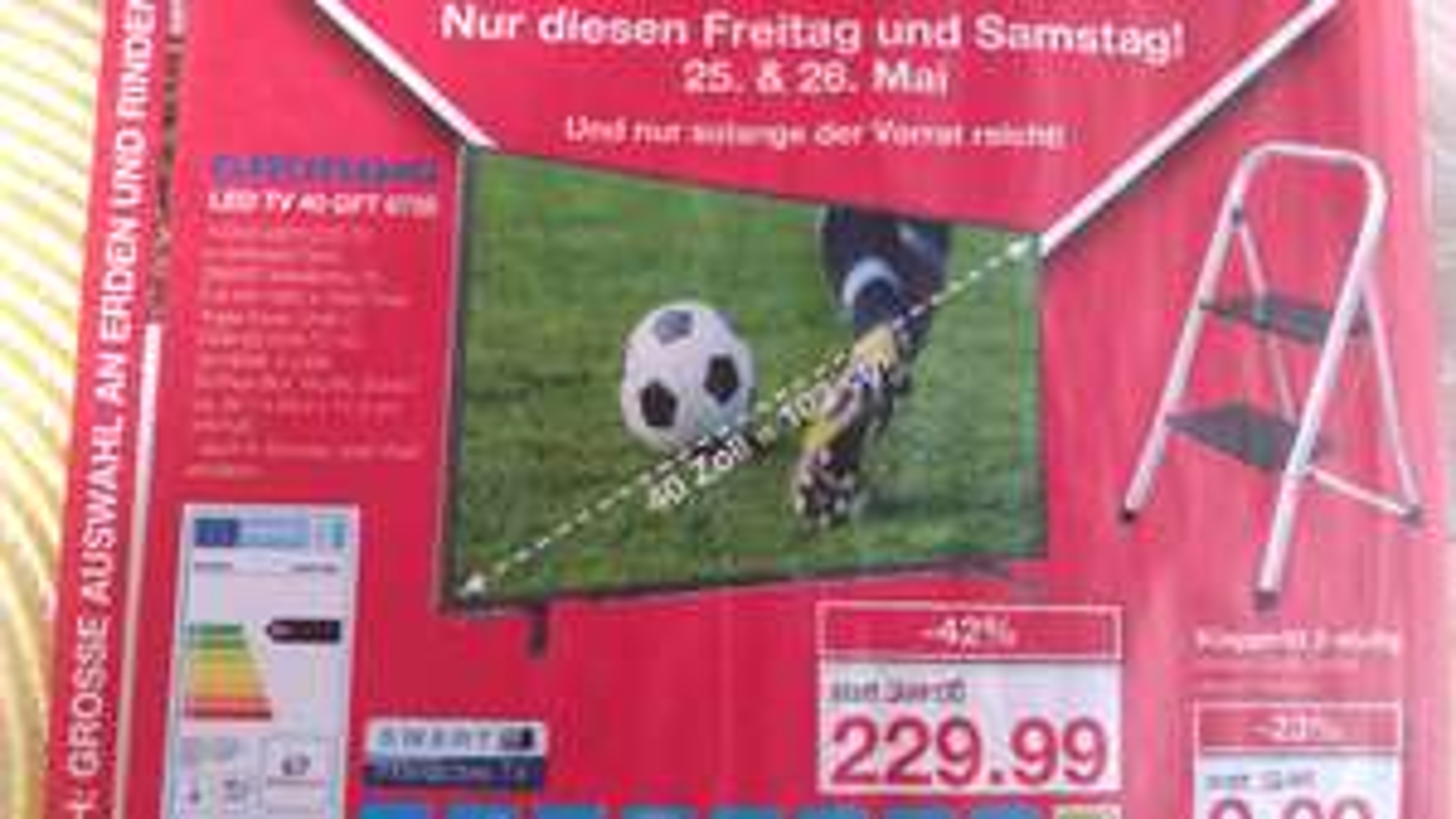 Grundig GFT 6728 40 ZOLL Full Hd Smart TV Lokal?