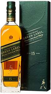 [Amazon] Johnnie Walker Green Label Blended Scotch Whisky (1 x 0.7 l)