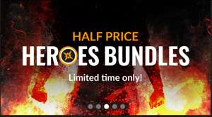 [Fanatical] 50% Rabatt auf alle Heroes Bundle (Steam) z.B. mit Commandos Collection, System Shock, Betrayer, Worms
